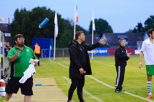 Andy Rice Cabinteely FC Interim Manager
