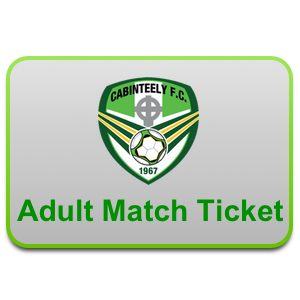 adult cabinteely  match ticket
