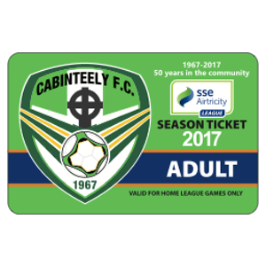 cabinteely season ticket adult