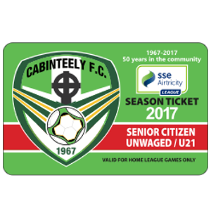 cabinteely season ticket u21