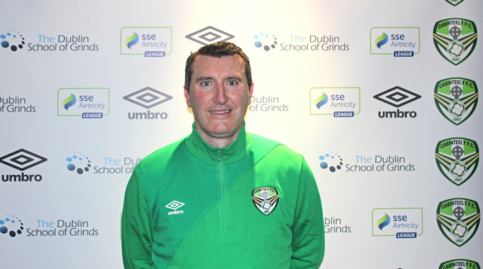 Jason Byrne Signs for Cabinteely