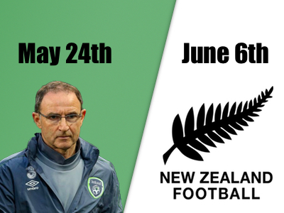 Martin O'Neill and New Zealand All Whites to kick start Cabinteely's Jubilee Celebrations
