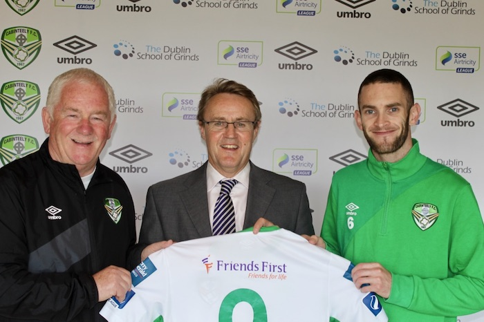 Friends First and Cabinteely FC Strengthen Relationship