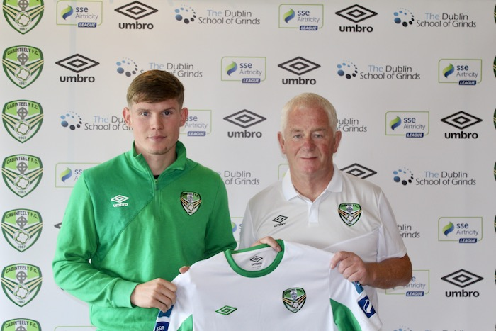 Ryan Swan Signs for Cabinteely FC