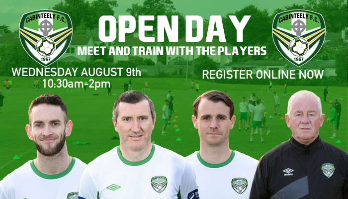 Open Day for Cabinteely FC Players