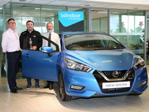 Win a new Nissan Micra at our Golf Classic!