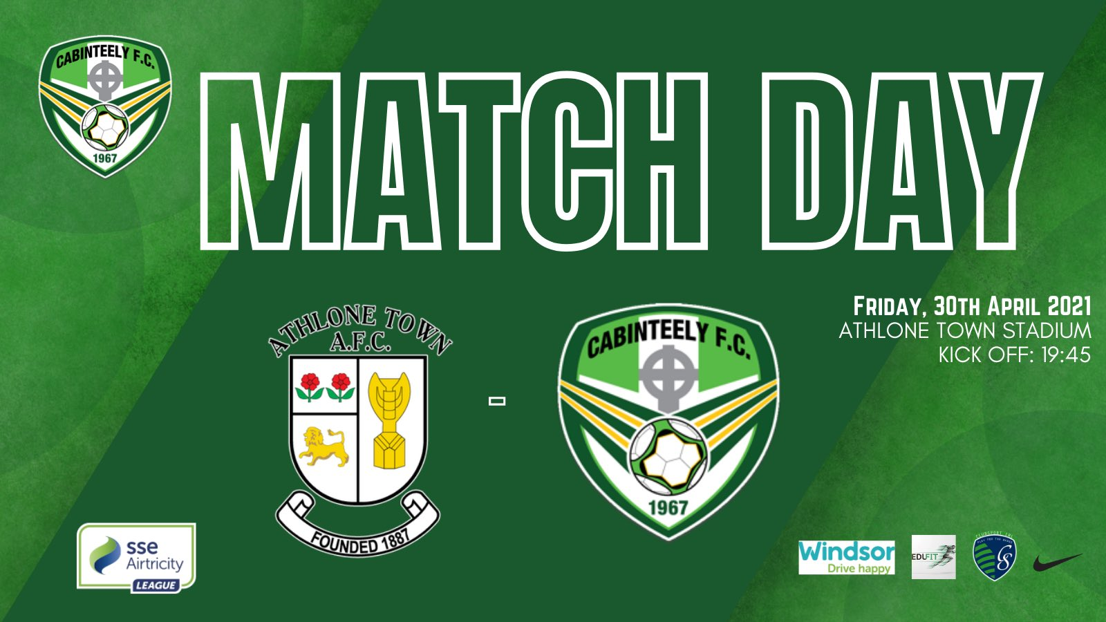 Cabinteely FC v Athlone Town Match Preview